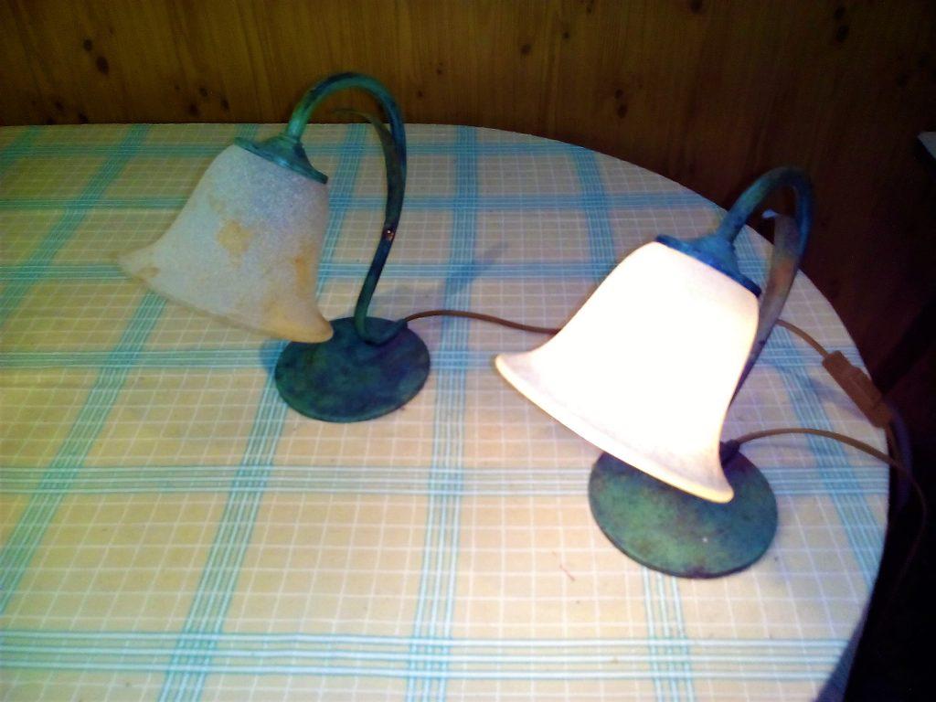 Coppia di lampade antiche annunci sicuri